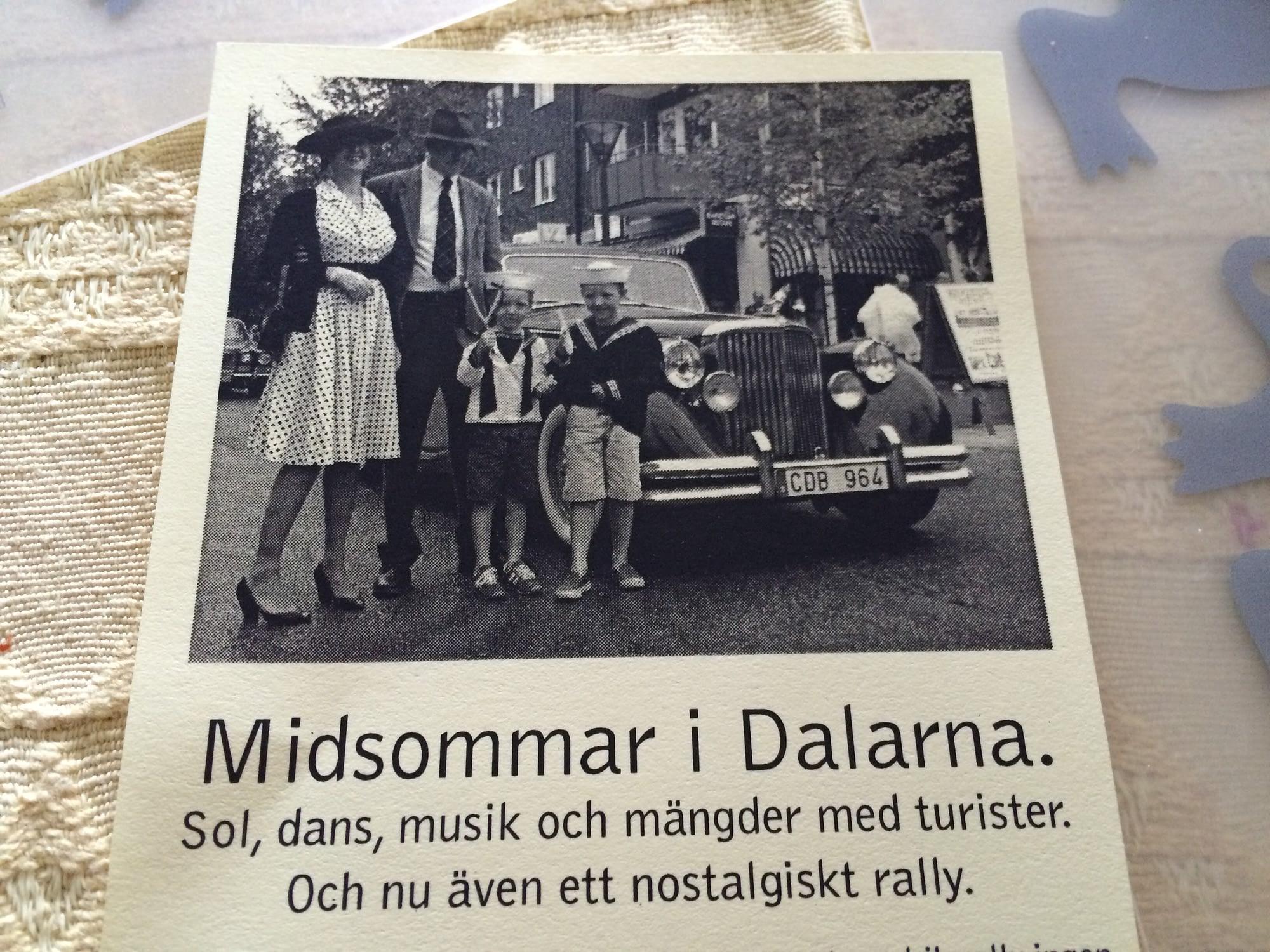 Nytt rally på midsommarafton!