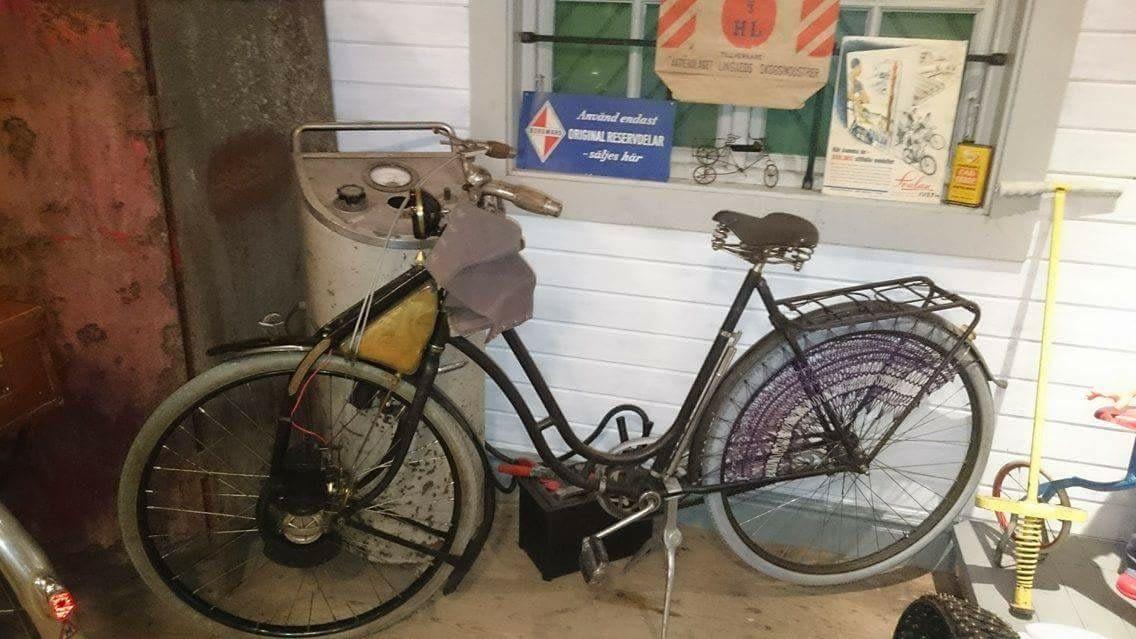 Öwa-hjul på cykel